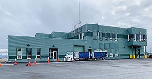 First cargo shipment sent via GoldStreak to Cold Bay