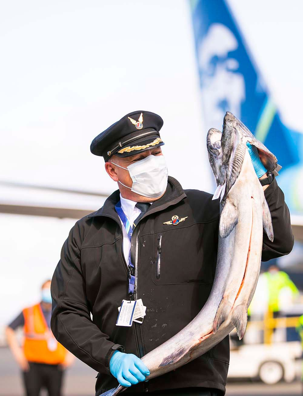 A royal toast to the fish we honor most! The salmon king arrives in Seattle