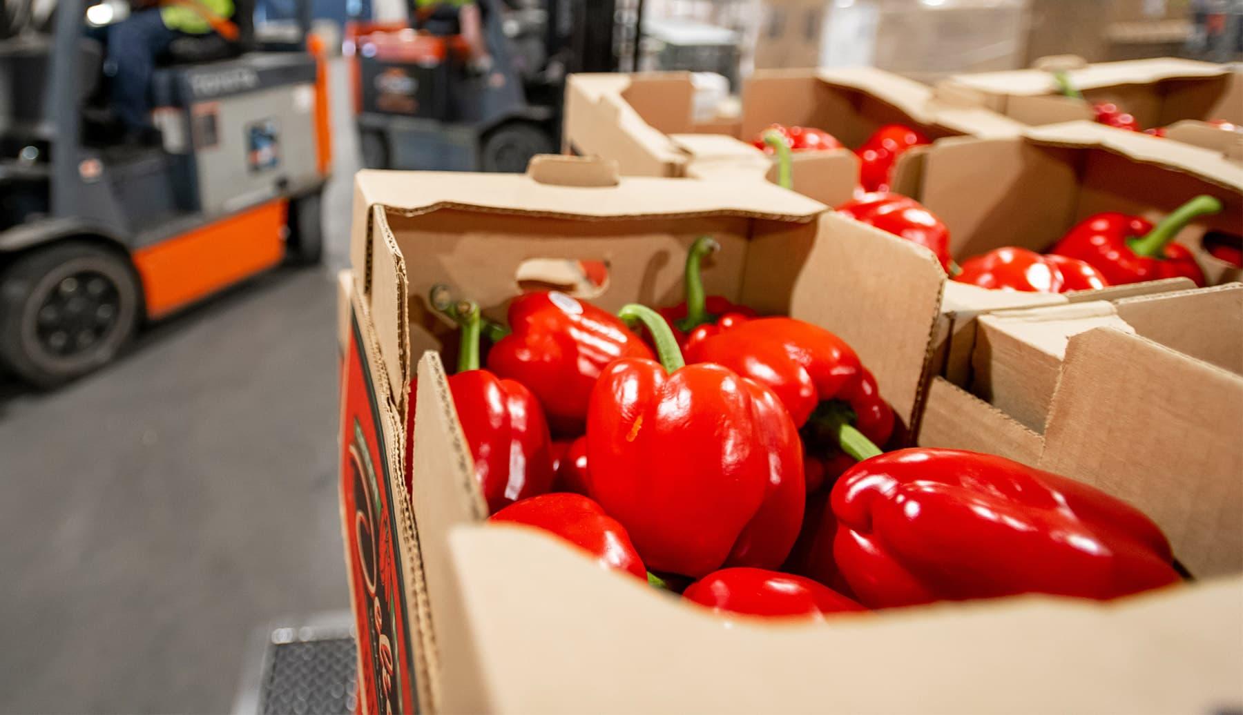 Customer Spotlight: Kroger delivers fresh produce to Juneau with Alaska Air Cargo.